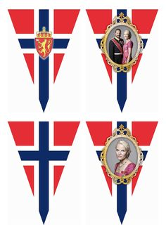 May Norwegian National Day – Free Printable Flag Banner Wings of Whimsy: FREE Printable Norwegian National Day Flag Banner - free for personal use Printable Designs, Free Printables, 17. Mai, Haitian Independence Day, Norway Viking, Norway Flag, May 17, Flag Banners, Bunting Garland