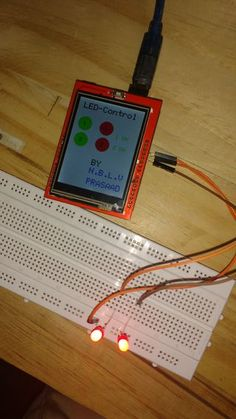 Arduino TFT Display Home Autoamtion: 3 Steps Arduino Projects, Electronics Projects, Arduino Lcd, Raspberry Pi Computer, Display Homes, Home Automation, Touch, Log Projects, Computers