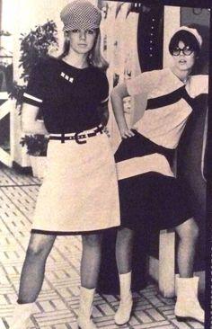 Mod Fashion ~ Ingenue Magazine, January 1966