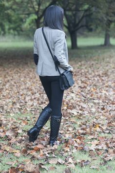 Classic Fall Look :: Blitz And Glam
