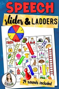 Speech Slides and Ladders Games for Articulation Practice