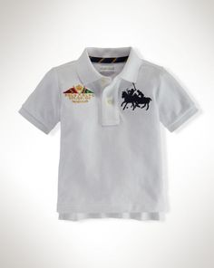 Dual Match Cotton Polo Shirt - Baby Boy Polos - RalphLauren.com