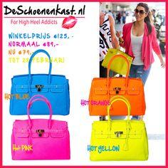 Neon Bags  Shop @www.DeSchoenenkast.nl