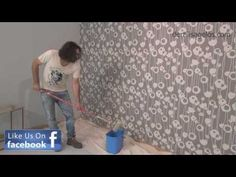 Πως θα βγάλετε την ταπετσαρία !!! - YouTube Home Crafts, Wallpaper, How To Make, Diy, Decor Ideas, Youtube, Home Decor, Decoration Home, Bricolage