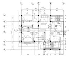 Floor plans like Small House Designs Series: offers simplicity and economy. The house plan features porch, entry, rear patio and service area. Three Bedroom House Plan, Studio Apartment Layout, Built In Cabinets, Small House Design, Small House Plans, Pinoy, Floor Plans, How To Plan, Perspective