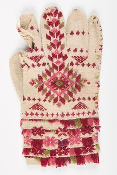 muis.ee - kinnas; Estonian Web Museums, Estonian mitten/Tõstamaa,1881 How To Start Knitting, How To Purl Knit, Knit Mittens, Mitten Gloves, Knitting Needles, Hand Knitting, Pattern Art, Art Patterns, Hand Warmers