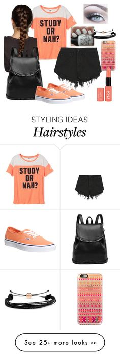 """""""Untitled #649"""" by lexidanesco on Polyvore featuring OPI, Nana Judy, Vans, Casetify and Domo Beads"""