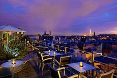 43 Up On the Roof | 14 Awesome Outdoor Rooftop Bars And Restaurants In Paris