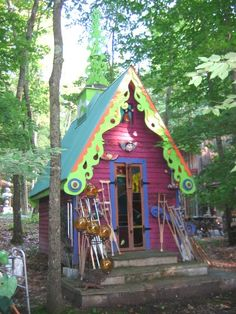 Luna Parc: one of the most quirkypretty houses in NJ COLORFUL COTTAGE