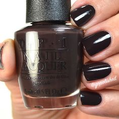 It's Top Secret is a rich chocolate brown polish. New from the OPI Washington DC Collection 2016 (Fall/ Winter). Opi Nail Polish, Opi Nails, Nice Nails, Make Me Up, Chocolate Brown, Washington Dc, Fashion Beauty, Fall Winter, Makeup