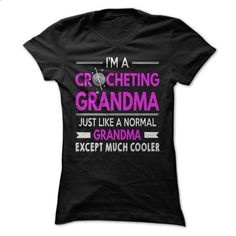 Cool Crocheting Grandma - #cool sweater #comfy sweater. ORDER NOW => https://www.sunfrog.com/LifeStyle/Cool-Crocheting-Grandma.html?68278