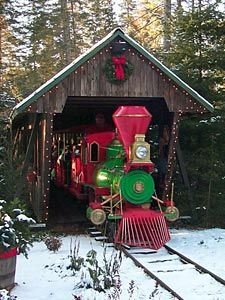 Probably my favorite place on Earth as a kid 'nSanta's Village in Jefferson, NH
