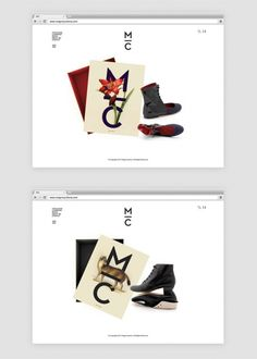 Branding project by Mark Brooks for Magro Cardona, a high-quality footwear brand based in Madrid, Spain. Graphic designer Mark Brooks was hired to develop