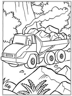 coloring page Trucks - Trucks