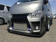 Toyota Van, Big Boyz, Toyota Hiace, Custom Garages, Tans, Campervan, Jdm, Cars And Motorcycles, Future