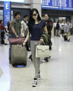 Blue Plain Tee Airport Fashion of fx Victoria