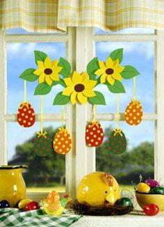 Winter Crafts For Kids, Spring Crafts, Art For Kids, Diy Ostern, Easter Holidays, Decorative Tile, Easter Crafts, Happy Easter, Paper Art