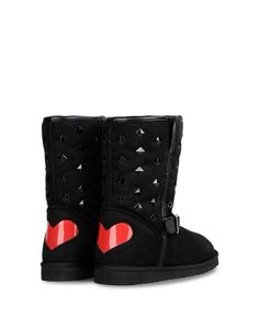 Ankle boots by Moschino.
