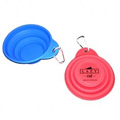 Silicone Collapse-a-Bowl $5.95 Lazy Cat, Pet Furniture, Toys, Activity Toys, Toy