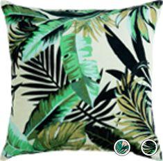 Jangala Velvet Cushion 50 x Leaf Green Green Cushions, Velvet Cushions, Scatter Cushions, 50th, Plant Leaves, Delivery, Leaf Patterns, Tropical, Lounge