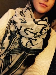 You can never go wrong with Anchor scarfs.