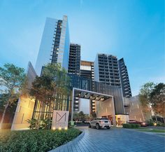 FOR Kota Kinabalu-based Borneo Estate Development Sdn Bhd's chief operating officer, Ben Kong Chung Vui, property development means building somethi. Entrance Design, Entrance Gates, Main Entrance, Gate Design, Seaside Apartment, Gate Way, High Rise Apartments, Tower Building, Gate House