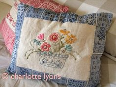 camilla: flower bowl embroidery sampler to by charlottelyons