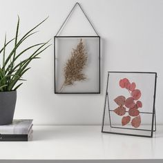 """LERBODA Frame, dark gray, Picture without mat width: 7 ¾"""" - IKEA"""