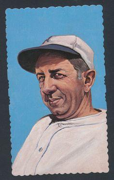 Eddie Collins baseball 1984 RGI Hall of Famers Deckle Edge card #17