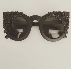 The same beautiful frames as the Victorian Mourning and Evening but with an oil-rubbed bronze patina applied to the embellishments. Deep, dark, rich bronze with a slight shimmer that is only visible in the bright sun. Available in matte black only. Preorder Sale may take up to 8 weeks for delivery.