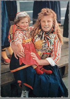 MARKEN Sijtje Boes 1950-1970 #NoordHolland #Marken
