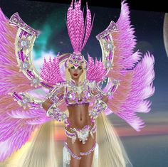 carnival colors    Tori's Blog: New @ Barerose Tokyo - Brazilian Samba Carnival costumes