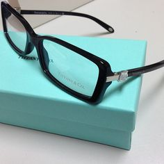 New for 2013 - Tiffany & Co. Eyeglasses and Sunglasses. This is TF 2060G color 8001 black