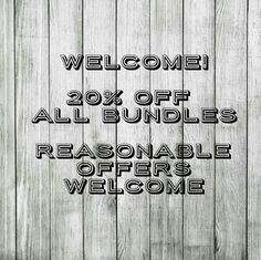 20% Off All Bundles! After a much needed break, I'm back to Poshing! Hope everyone is having a lovely New Year. I'll be steadily adding listings.  Currently offering a 20% discount on any bundle of two or more, but I also welcome respectful offers.  If you have any questions, I'm always here to help.   Suggested User since 10/5/16.  Thank you, as always! torrid Accessories