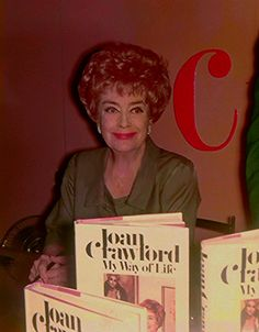 Booksigning event for her new book in 1971! If you're a Joan fan, you MUST read this book the absolute JOAN BIBLE!!!!! My Way of Life now reprinted in paperback for 2017.