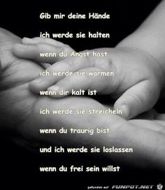 Let go- Loslassen Let go - Co Parenting, Parenting Quotes, Happy Quotes, Love Quotes, Happiness Quotes, Baby Album, True Words, Cool Words, Letting Go