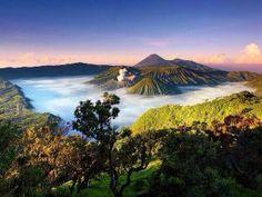 Mt. Bromo in Indonesia