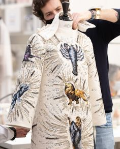 Dior Haute Couture, Blouse, Long Sleeve, Sleeves, Tops, Women, Fashion, Moda, Women's