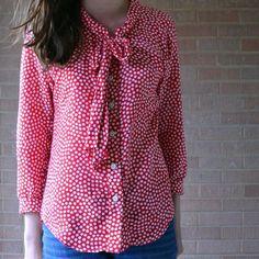 McCalls M6512 shirt pattern.
