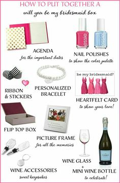 Bridesmaids Box