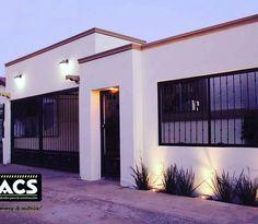 Remodelación de fachada en Colonia  Bugambilias  #construccion #remodelacion #pintura #acabados #reutiliza #iluminacion #arquitectura #molduras #gargolas #faroles #macetera #jardin #plantas #hermosillo