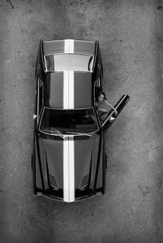 1969 AMC AMX - nice shot from above