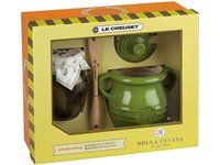 Le Creuset Olive Gift Set  #holidaycooking