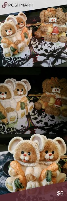 Easter Figurines Set Bear Couples Cute Super cute set of bear couples to decorate your home with this easter! Other