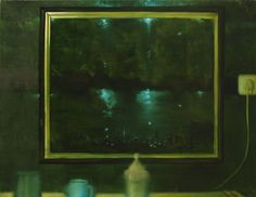 Herman Levente: Zóna 06 – Konyha / Zone 06 - Kitchen - 2009 olaj, vászon / oil on canvas - 80x100 cm