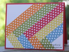 Quilted Card -- post has 3 different cards using different papers, also a YT video -- tutorial