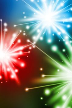 Colorful Fireworks 3D Wallpaper