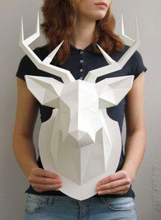 Blog de Ámbar Muebles: Decora tus paredes con cabezas de animales, eso sí, artificiales y ecológicas