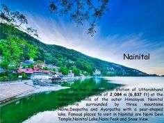 #Nainital  @Getupandgotours Adventure Holiday, Adventure Tours, Nainital, Hill Station, Famous Places, Safari, Exotic, Places To Visit, Wildlife