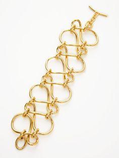 Gold Infinity Link bracelet (Faraone Mennella)